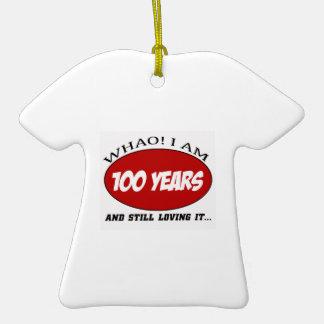 refresque 100 diseños del cumpleaños de los años ornamente de reyes