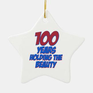 refresque 100 diseños del cumpleaños de los años ornamentos para reyes magos