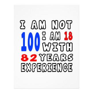 Refresque 100 diseños del cumpleaños plantillas de membrete