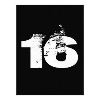 Refresque a la décimosexto fiesta de cumpleaños anuncios personalizados