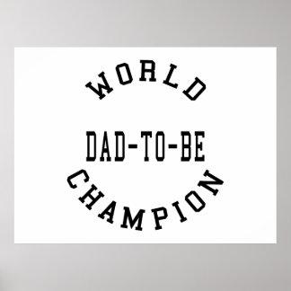 Refresque a los papás retros para ser Papá del ca Posters