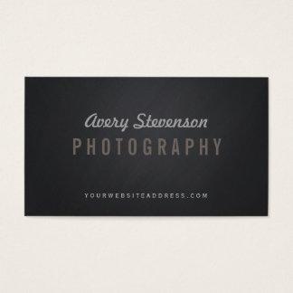 Refresque al fotógrafo envejecido de la cadera de tarjetas de visita