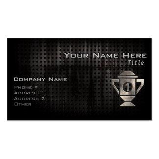 Refresque el 1r trofeo del lugar tarjetas de visita