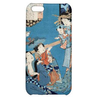 Refresque el arte japonés de las señoras y del niñ