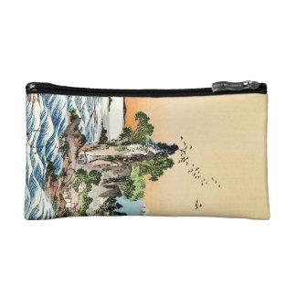 Refresque el arte japonés del pueblo de la roca de