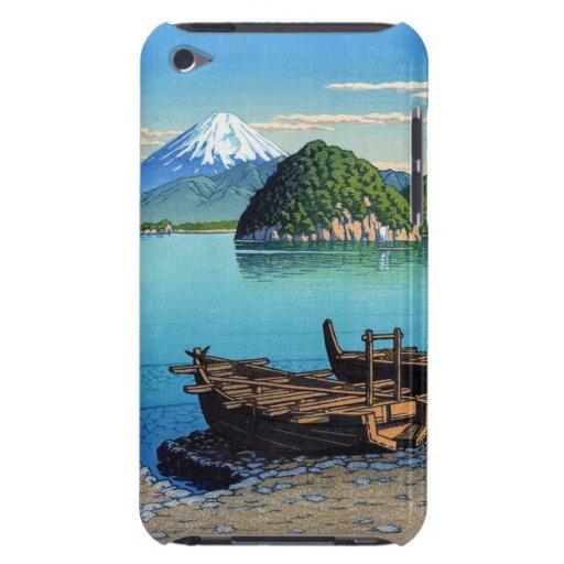 Refresque el arte oriental del barco de la playa d Case-Mate iPod touch cárcasa