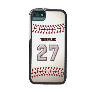 Refresque el béisbol cosido número 27