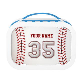 Refresque el béisbol cosido número 35
