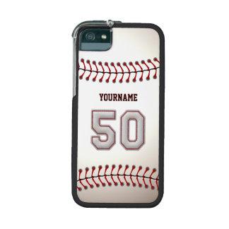Refresque el béisbol cosido número 50