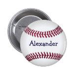 Refresque el béisbol personalizado pin