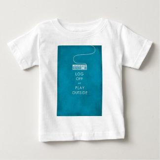 refresque el cierre de sesión y el juego de la camiseta