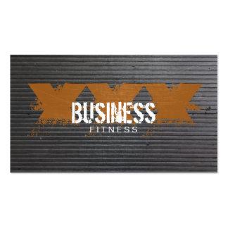 Refresque el entrenamiento rasguñado de la aptitud plantillas de tarjeta de negocio