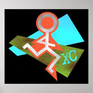 Refresque el funcionamiento del campo a través XC Poster