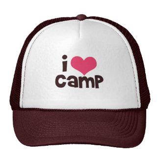 Refresque el gorra del campo del amor de I