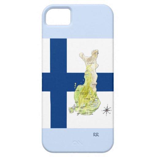 Refresque el mapa caso del iPhone 5 de Finlandia y iPhone 5 Carcasa