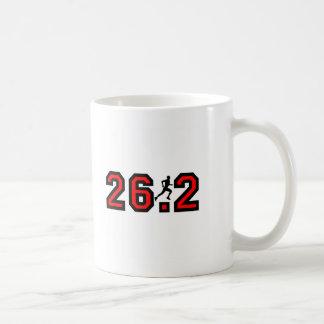 Refresque el maratón 26,2 taza clásica