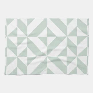 Refresque el modelo geométrico del cubo de Deco de Toallas De Mano