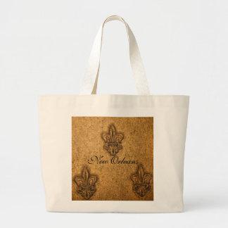 Refresque el modelo texturizado de la flor de lis bolsa