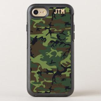 Refresque el monograma de Camo del camuflaje Funda OtterBox Symmetry Para iPhone 7