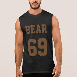 Refresque el oso 69 playera sin mangas