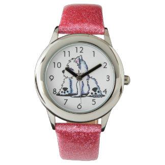Refresque el reloj de Westie del Belly