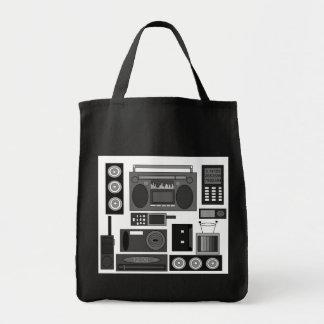 Refresque el revoltijo retro de la electrónica en  bolsa tela para la compra