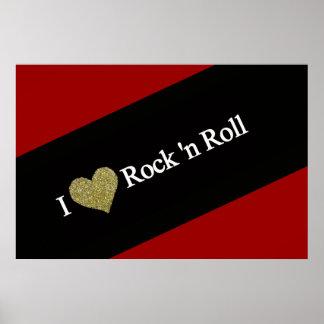 refresque el rock-and-roll del corazón de I Impresiones