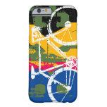 refresque la bici urbana del estallido - biking funda para iPhone 6 barely there