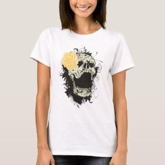 Refresque la camiseta del personalizado del cráneo