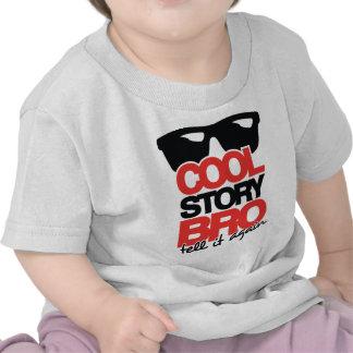 Refresque la historia Bro dígale otra vez - 2 col Camiseta