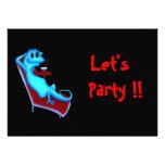 Refresque la invitación del fiesta