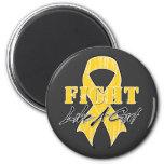 Refresque la lucha como un cáncer de Neuroblastoma Imanes