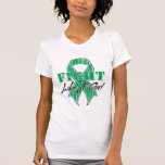 Refresque la lucha como una enfermedad del higado camiseta