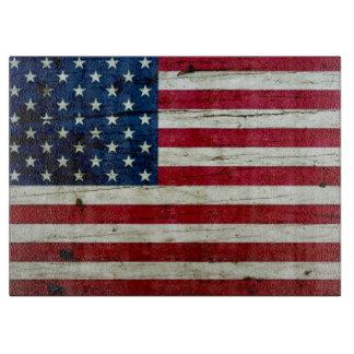 Refresque la madera apenada de la bandera tablas de cortar