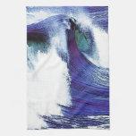 Refresque la onda toallas de cocina