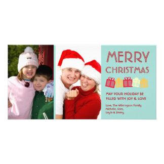 Refresque las cajas de regalo del baile de la dive tarjetas con fotos personalizadas