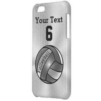 Refresque las cajas personalizadas del voleibol de