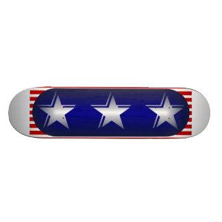 Refresque las estrellas patrióticas patín