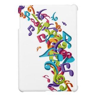 refresque las notas coloridas de la música y suena
