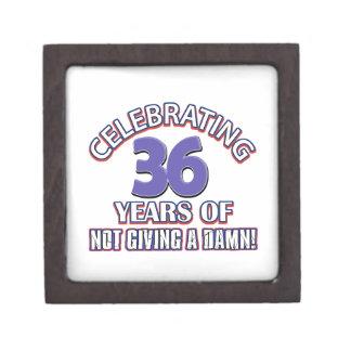 Refresque los diseños 37 años cajas de joyas de calidad