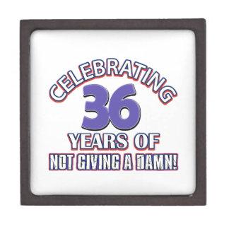 Refresque los diseños 37 años caja de joyas de calidad