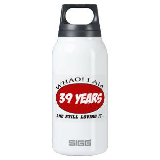 refresque los diseños del cumpleaños de 39 años