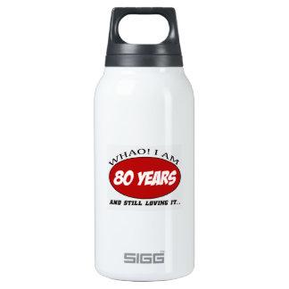 refresque los diseños del cumpleaños de 80 años