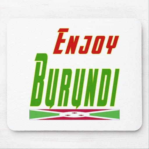 Refresque los diseños para Burundi Tapetes De Ratones