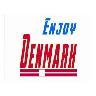 Refresque los diseños para Dinamarca Postales