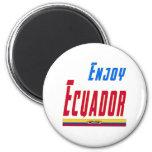 Refresque los diseños para Ecuador Imanes