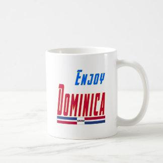 Refresque los diseños para la república de Dominic Taza De Café