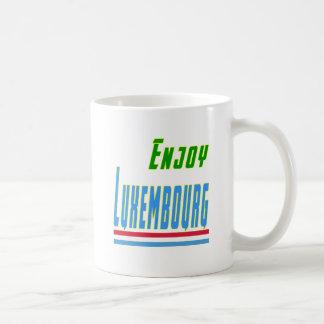 Refresque los diseños para Luxemburgo Taza De Café