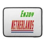 Refresque los diseños para Países Bajos Fundas Para Macbooks