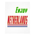 Refresque los diseños para Países Bajos Plantilla De Membrete